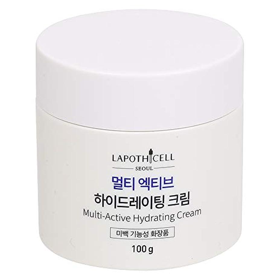 高度な分類する緊張Lapothicell☆Multi-Active Hydrating Cream100g[並行輸入品]