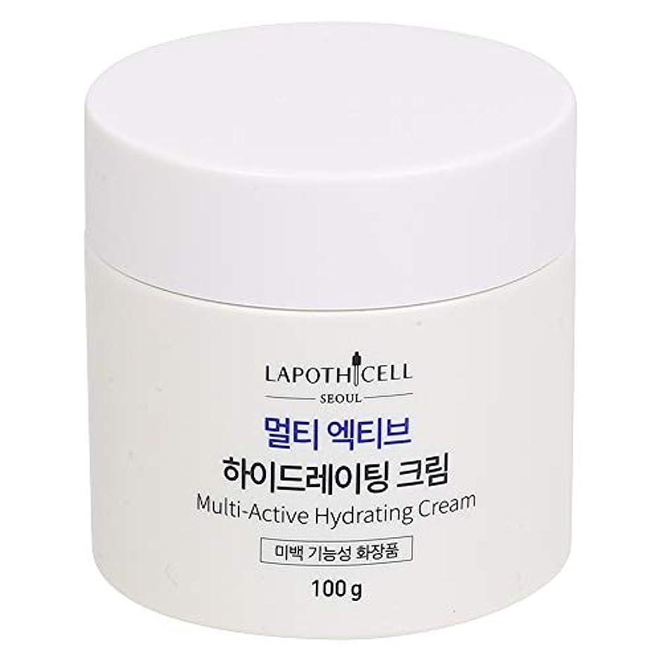 顕現芽郵便屋さんLapothicell☆Multi-Active Hydrating Cream100g[並行輸入品]