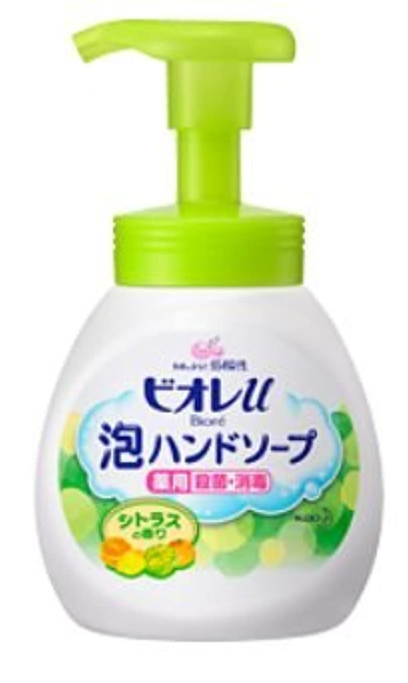 マーキー再生的吸い込むビオレu 泡ハンドソープ シトラスの香り [ポンプ]250ml×24個