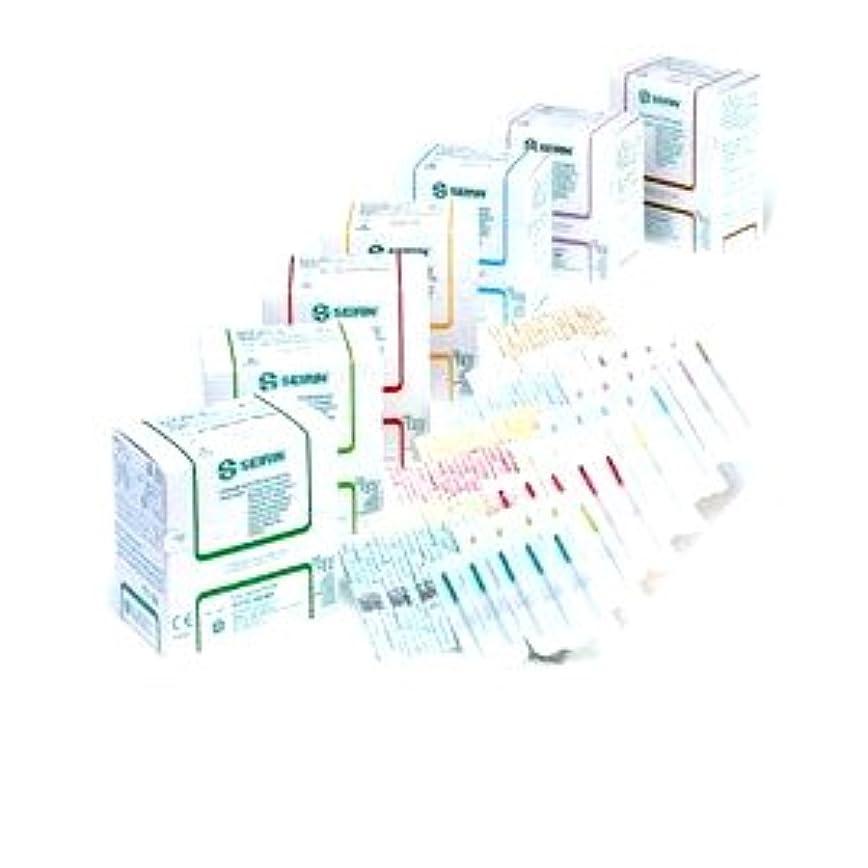 オーバーフロー長老調べるセイリン鍼灸針Jタイプ 針長30mm 、バイオレット(線径0.25mm)(プラスチック針管付)
