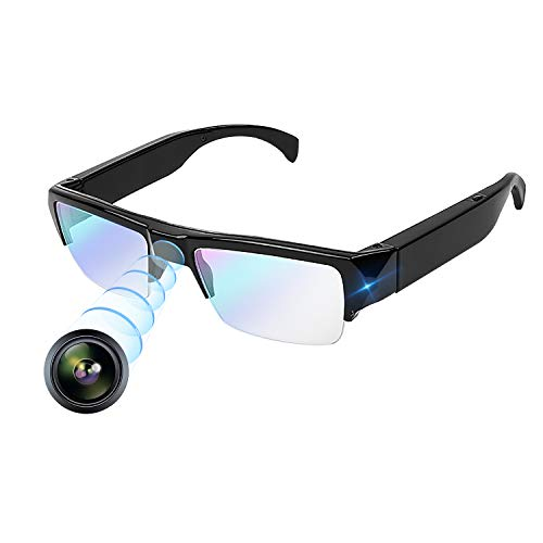 超小型カメラ メガネカメラ 1080P HD 隠し スパイ・...