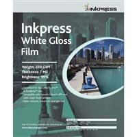 Inkpress wgf111720Specialtyメディアホワイト光沢フィルム11in。X 17in。20シート