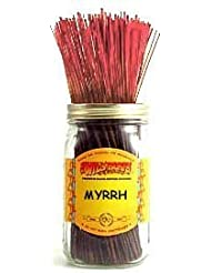 1 X Myrrh - 100 Wildberry Incense Sticks [並行輸入品]