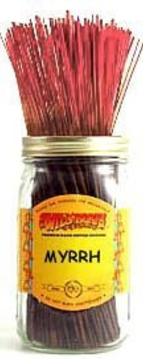 納屋私の定説1 X Myrrh - 100 Wildberry Incense Sticks [並行輸入品]