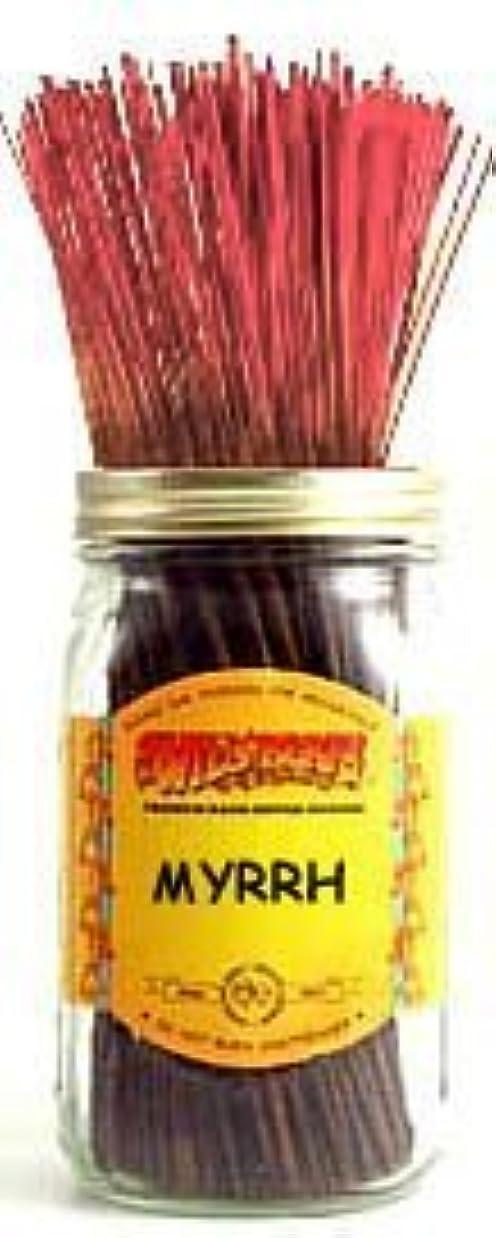扱う手配する通知する1 X Myrrh - 100 Wildberry Incense Sticks [並行輸入品]
