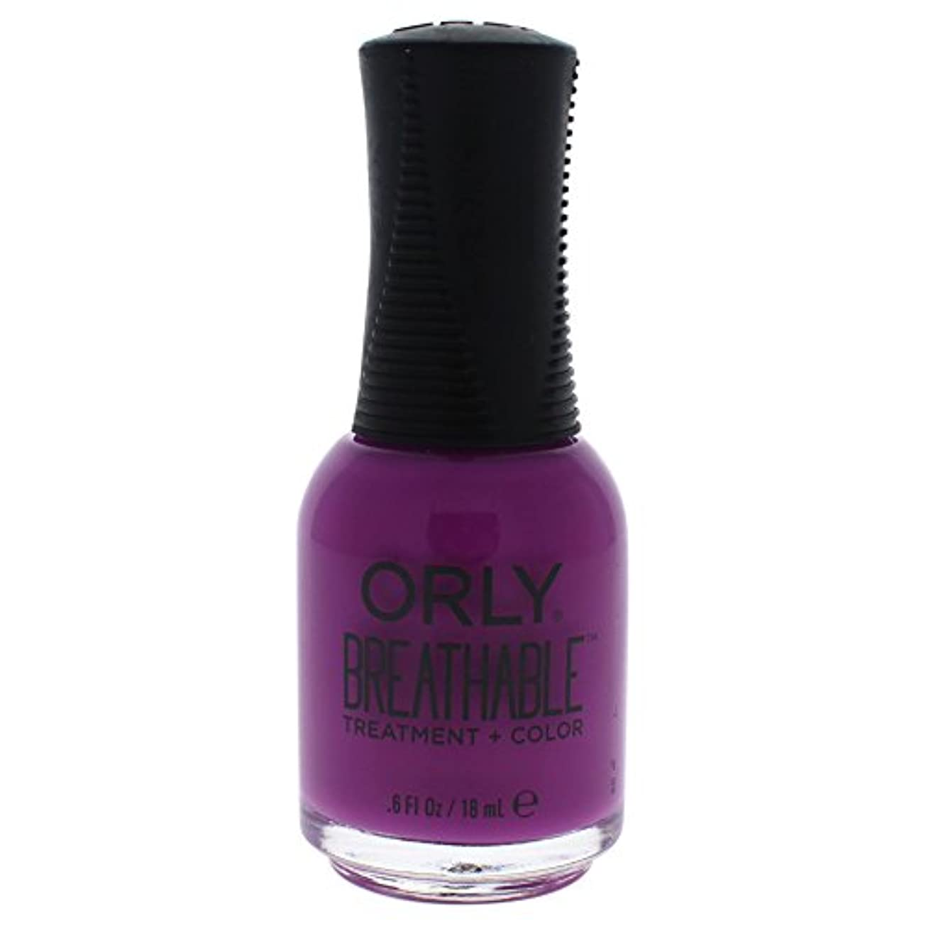 農業の誰かフライカイトOrly Breathable Treatment + Color Nail Lacquer - Give Me a Break - 0.6oz/18ml