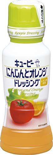 キユーピー にんじんとオレンジドレッシング 180ml×4本