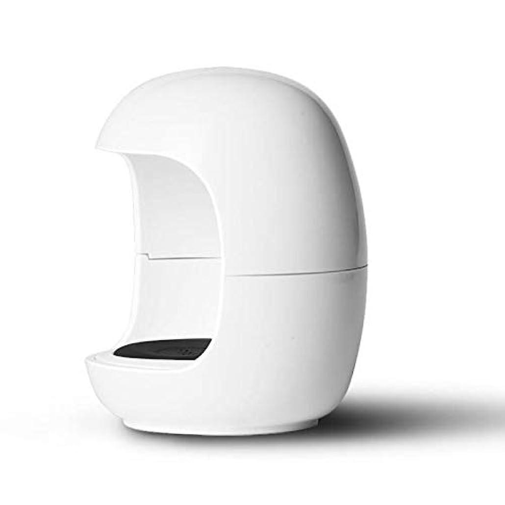 なんでも望むドローCikuso 新しい卵形状 ネイルuvランプ ミニポケットジェルネイルポリッシュドライヤー ポータブル シングルネイルLED uv硬化ライトランプ