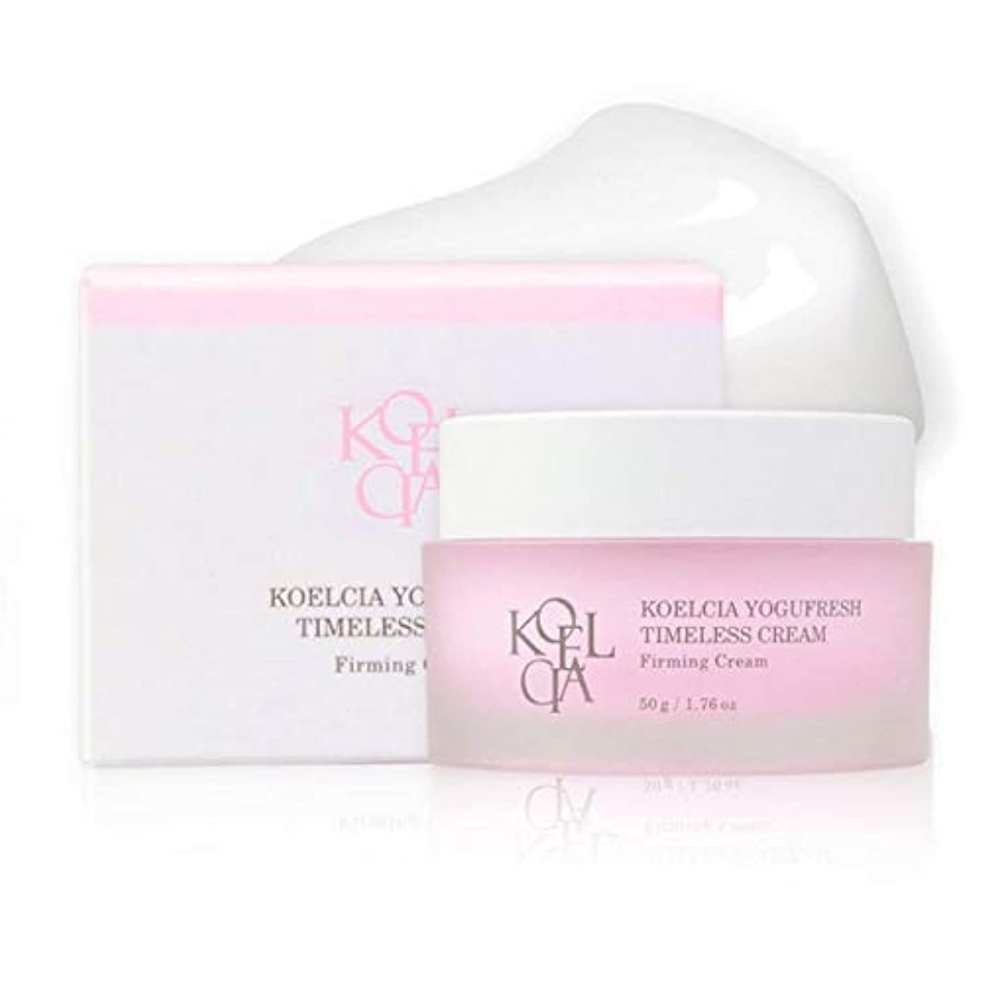 教ロマンチックリネン[KOELCIA] YOGUFRESH TIMELESS CREAM 50g/Most Hot K-Beauty Firming/Wrinkle Care Cream/Korea Cosmetics [並行輸入品]