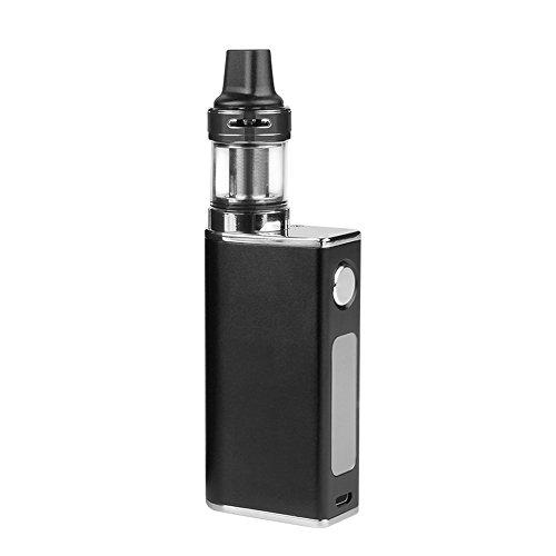 Bedee 電子タバコ スターターキット パワーチェンジ可能 Vape 1500mAH 大容量 爆煙 禁煙 セット 禁煙減煙サポート 日本語取扱説明書付 P801 ブラック
