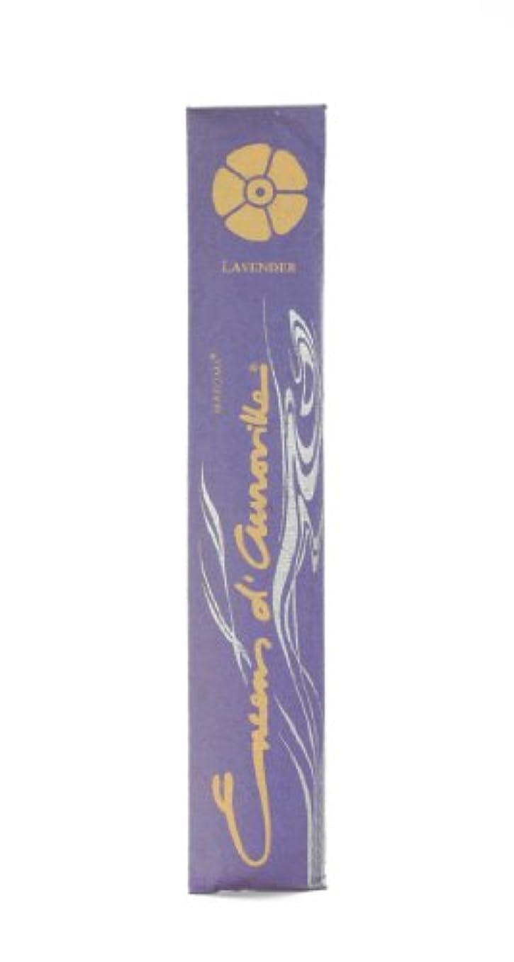虐殺致命的ひそかにMaroma Incense Encens d 'aurovilleラベンダー10 Sticks