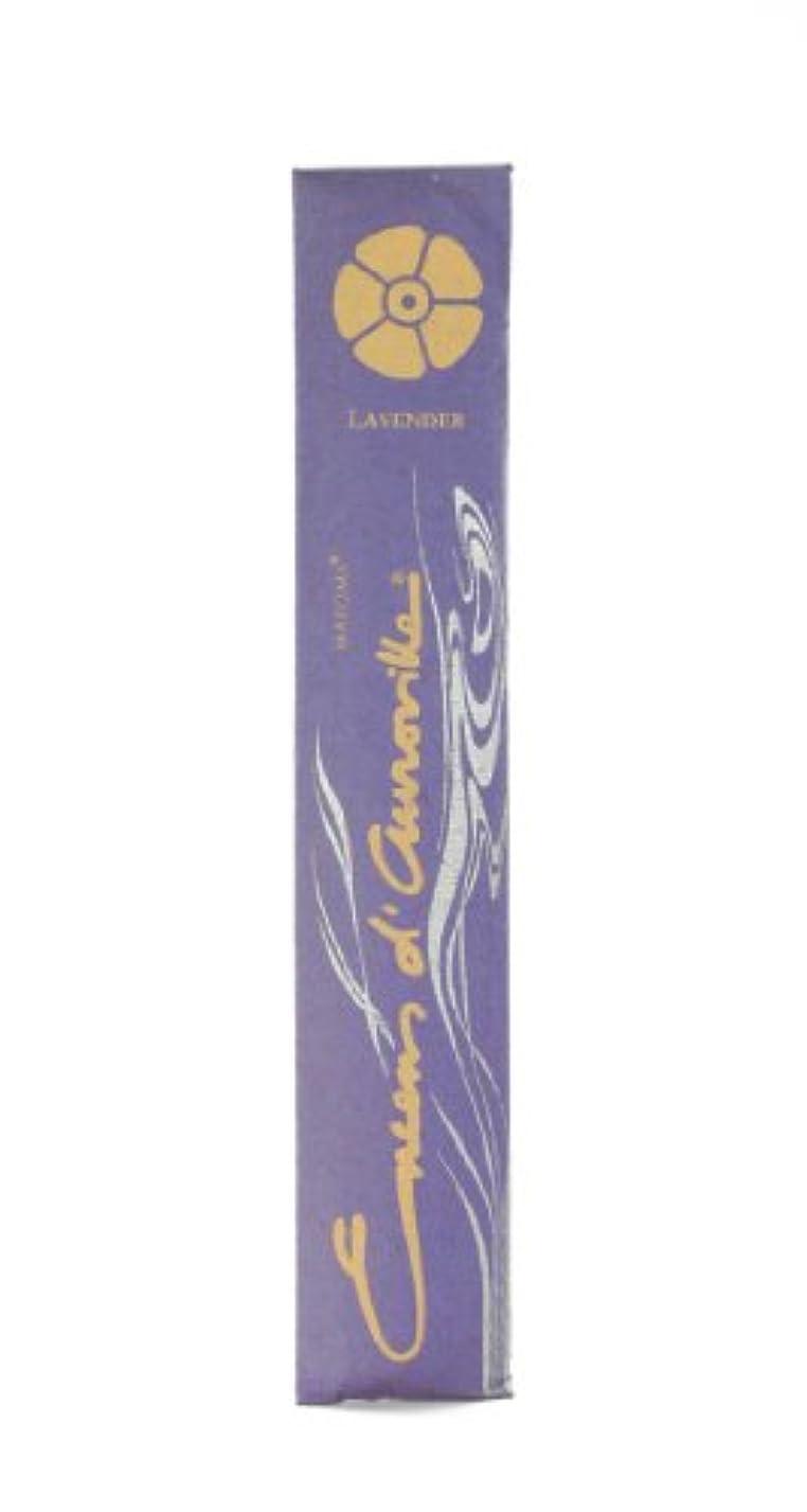 打ち上げるセクタ検閲Maroma Incense Encens d 'aurovilleラベンダー10 Sticks