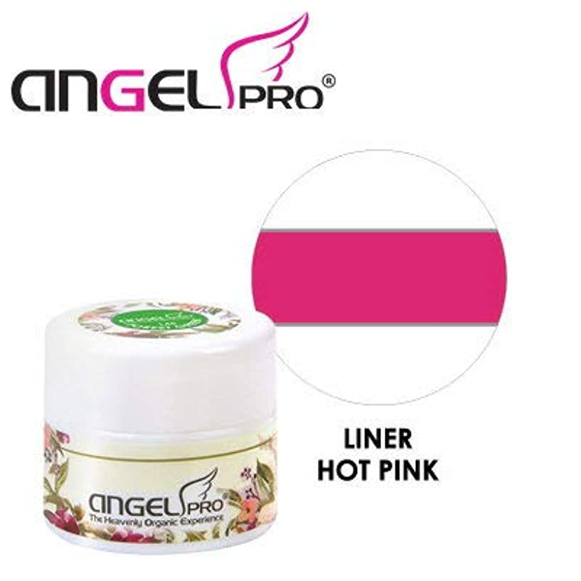 の前でのために申し立てられたANGEL PRO ポットジェリー LINER HOT PINK 4g