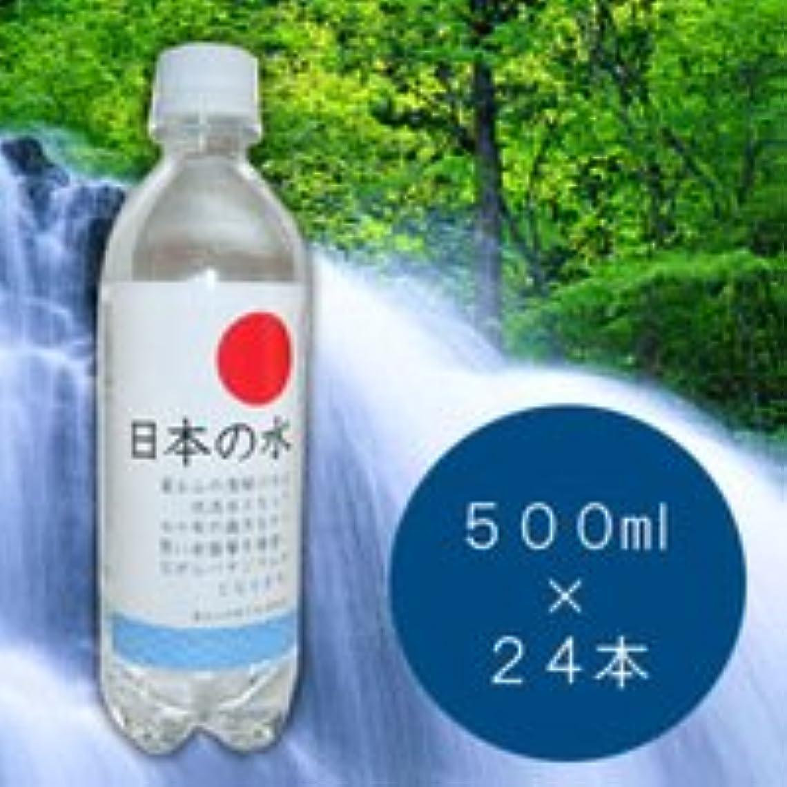 ランデブー闘争方法論日本の水 500ml×24本