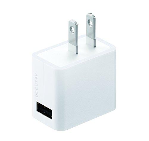 パナソニック スマートフォン対応USB出力ACアダプター QE-AP108-W