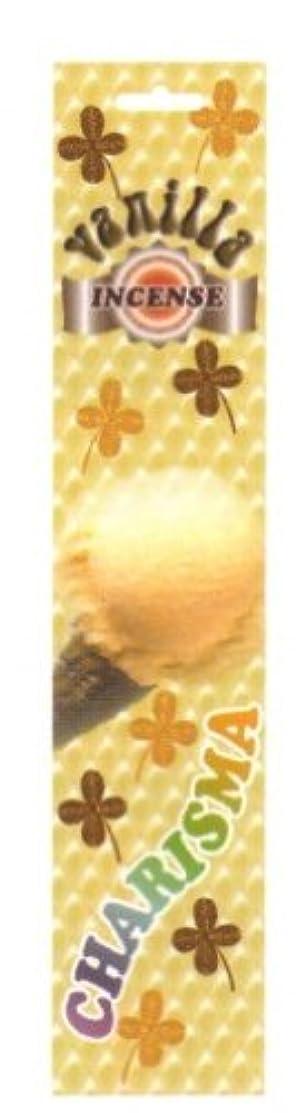 カリスマインセンス(スティック)バニラ+ソフトストーン香立付き