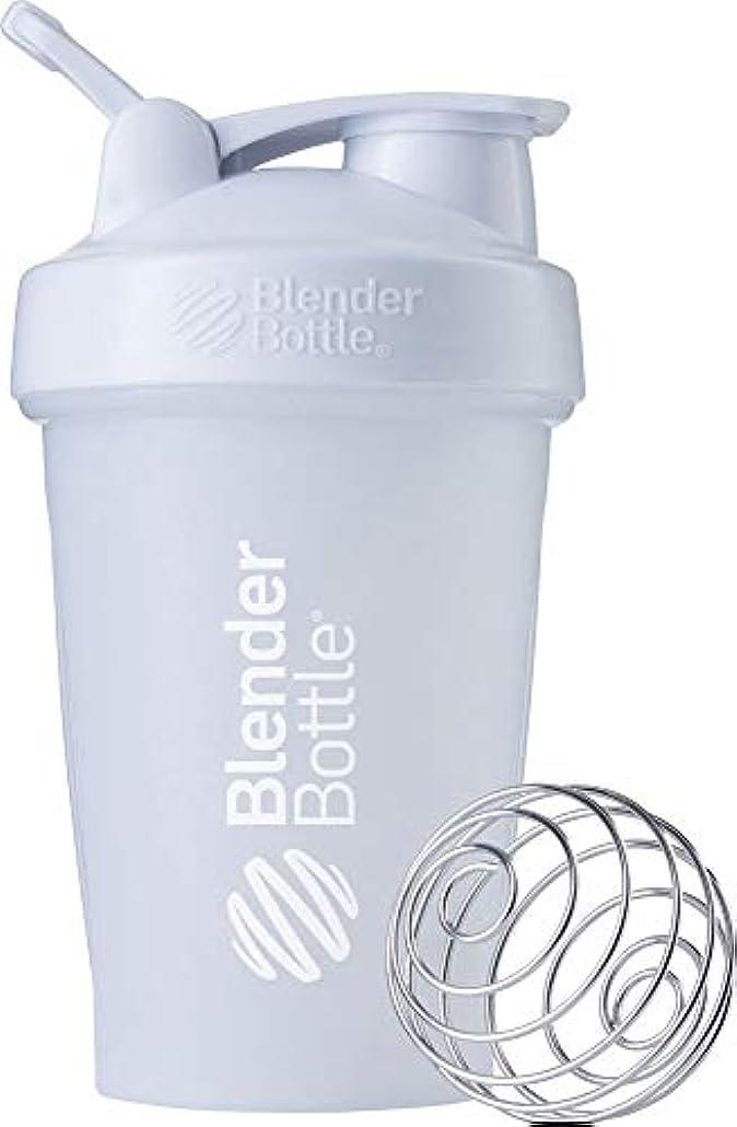 伝導率更新特許ブレンダーボトル 【日本正規品】 ミキサー シェーカー ボトル Classic 20オンス (600ml) ホワイト BBCLE20 FCWH