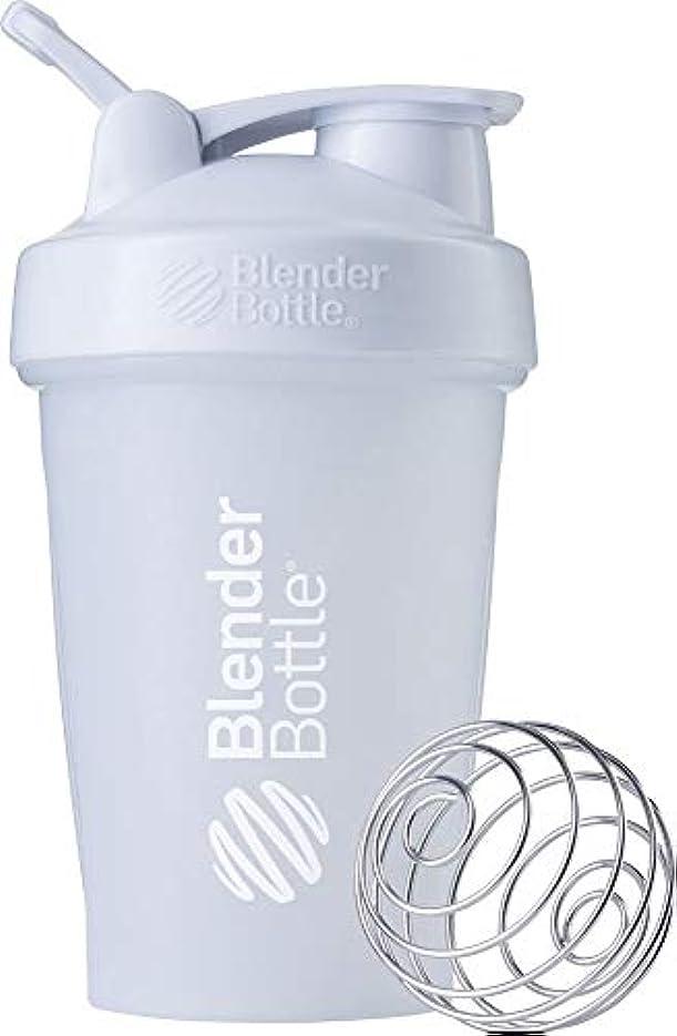 広範囲に移動する上向きブレンダーボトル 【日本正規品】 ミキサー シェーカー ボトル Classic 20オンス (600ml) ホワイト BBCLE20 FCWH