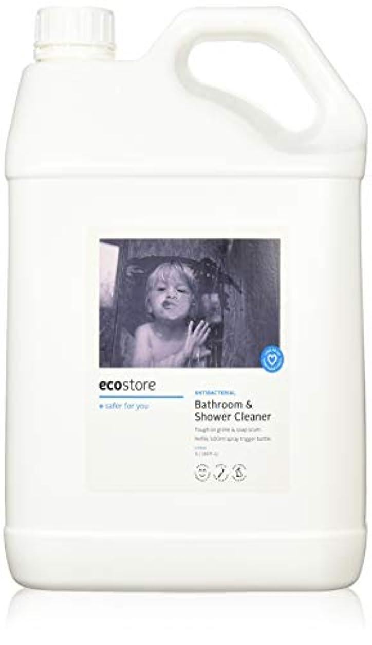 緑練習したリラックスecostore エコストア バスルーム&シャワークリーナー 【シトラス】 大容量 5L お風呂用 液体 洗剤