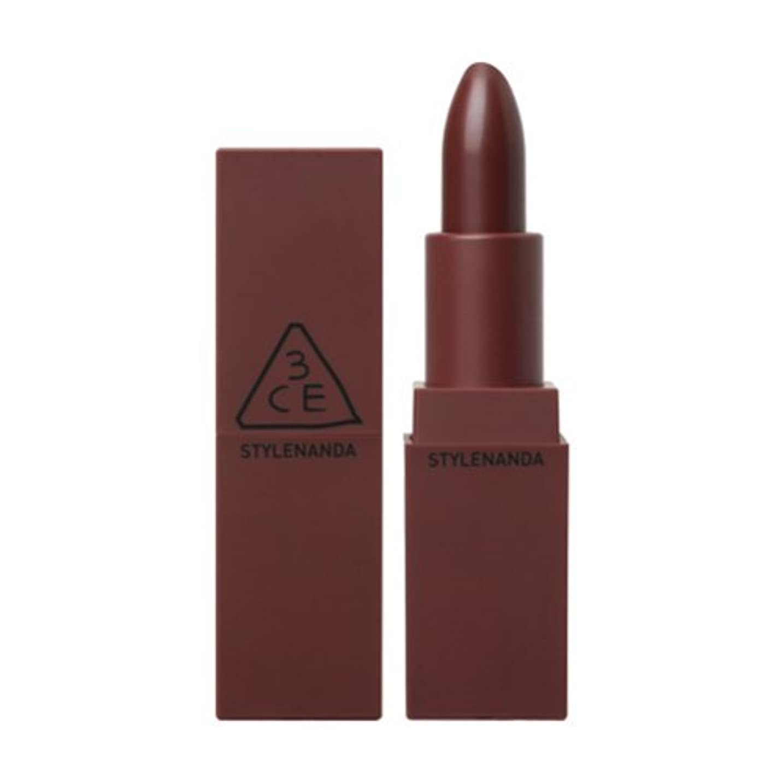 詳細なタクシー罹患率STYLE NANDA 3CE MOOD RECIPE マットリップ リップスティック カラー#117 Chicful 3.5g / STYLE NANDA 3CE MOOD RECIPE MATTE LIP Lipstick...
