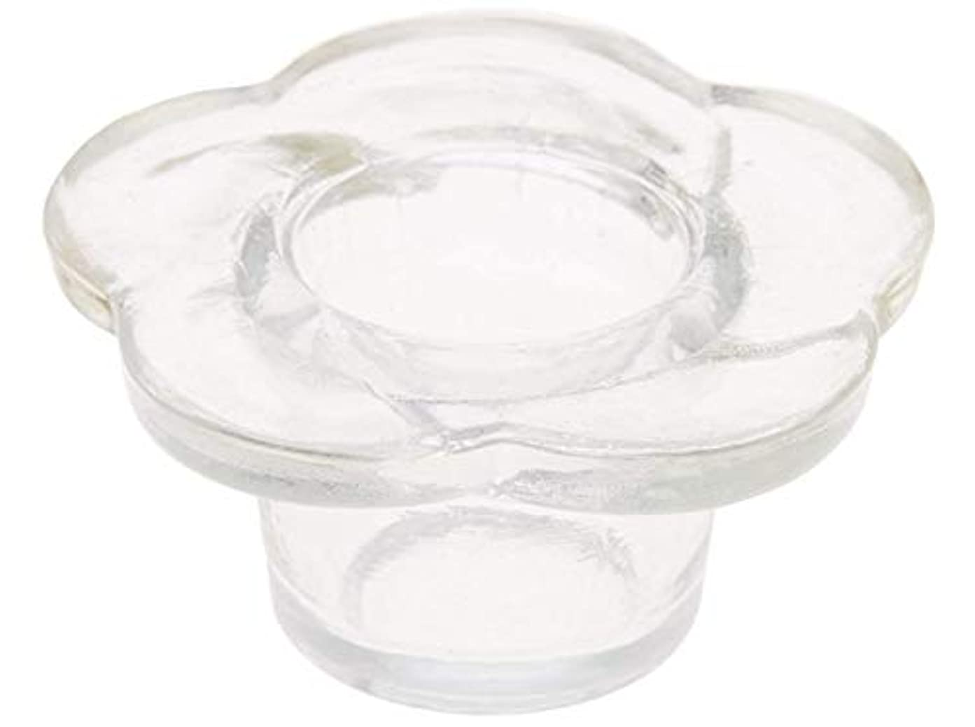 ピカリング食欲破滅的なダッペンディッシュ ADP380 花びら型 ネイル アクリル スカルプチュア アクリルリキッド リムーバー入れ 3Dアート ジェル ブラシ 筆 クリーナー 洗浄 お手入れ