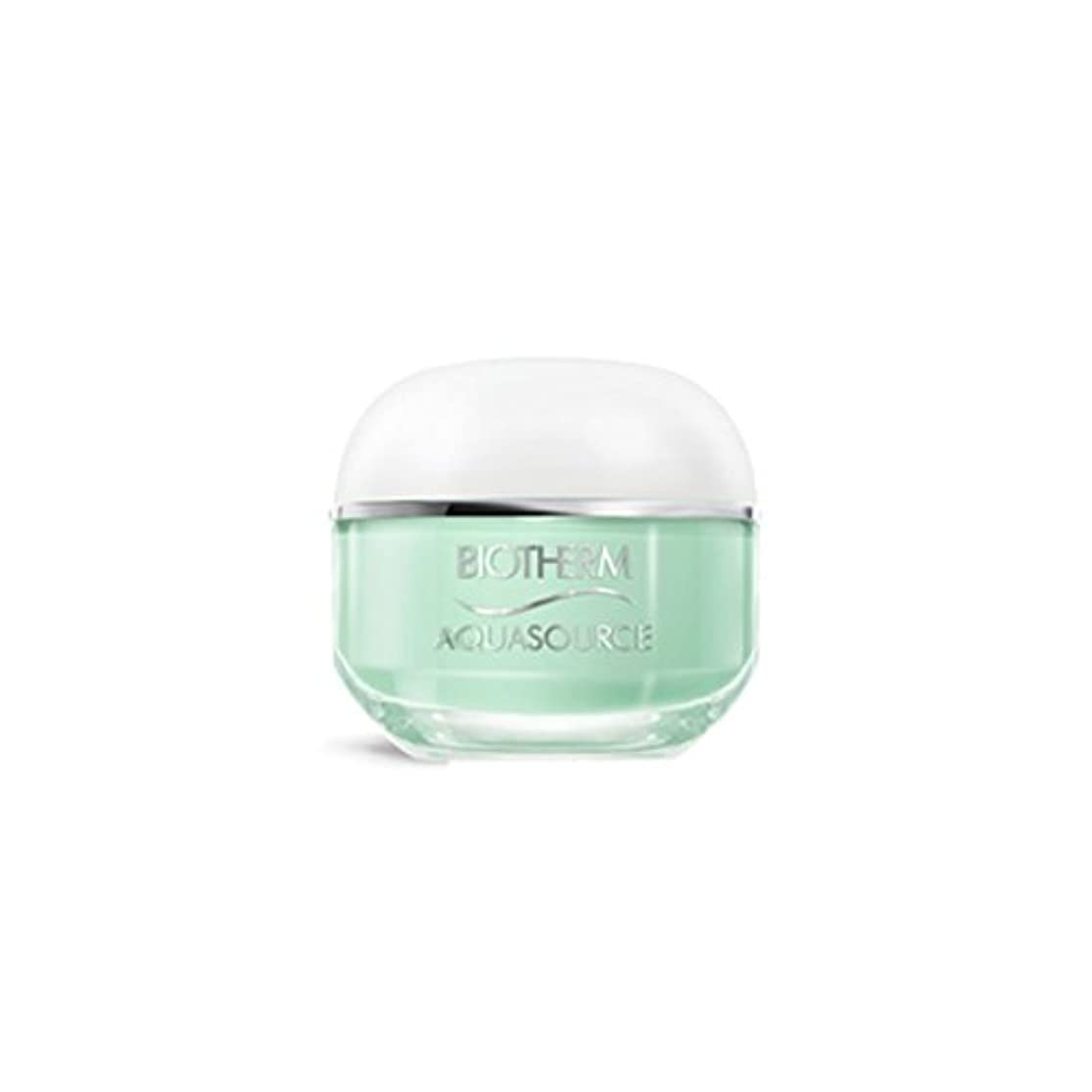 なしで倉庫シャークビオテルム Aquasource Gel Intense Regenerating Moisturizing Gel - For Normal/Combination Skin 50ml/1.69oz並行輸入品