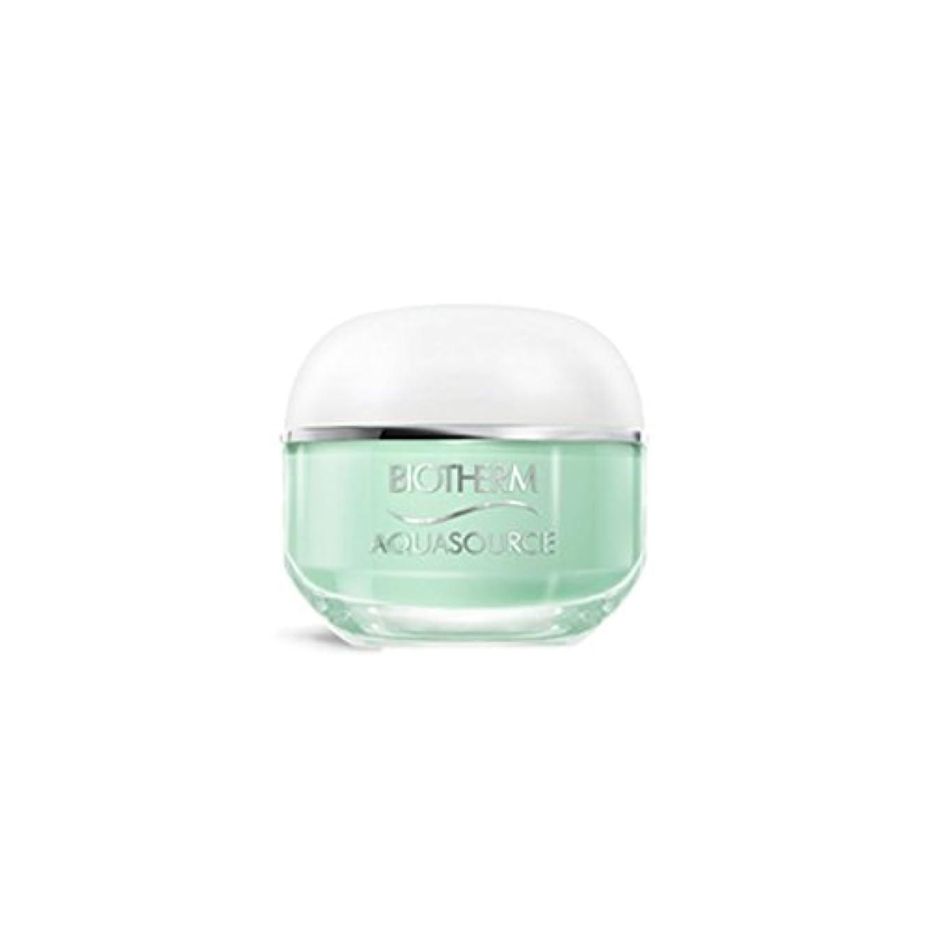 樫の木ムスタチオ神話ビオテルム Aquasource Gel Intense Regenerating Moisturizing Gel - For Normal/Combination Skin 50ml/1.69oz並行輸入品