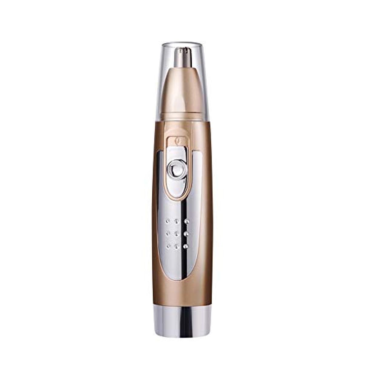 レトルト縞模様の忌まわしいノーズヘアトリマー-カッターヘッドウォッシャブル/三次元曲面カッターヘッドデザイン/ 360°立体ノーズヘア/ 135mm 持つ価値があります