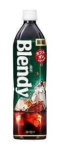 AGF ブレンディボトルコーヒー 無糖 900ml×12本 【アイスコーヒー】 【ペットボトル】