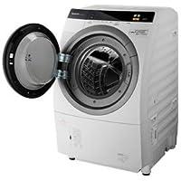 パナソニック 9.0kg ドラム式洗濯乾燥機【左開き】(クリスタルホワイト) Panasonic ECO NAVI WジェットDancing NA-VR5600L-W