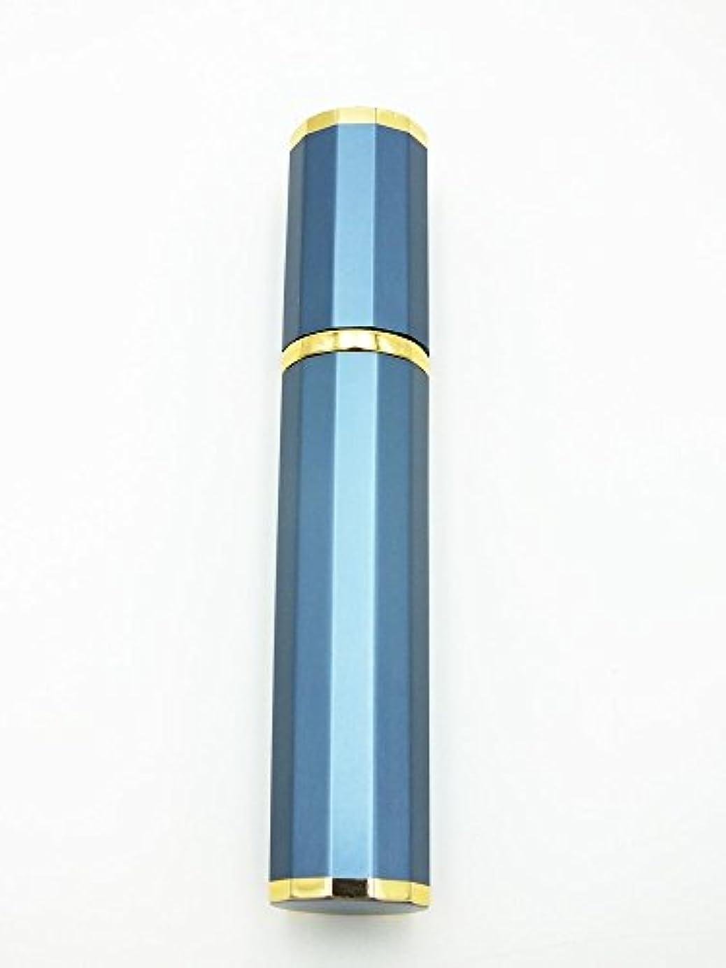 争い海外ラフトShop XJ アトマイザー 香水 詰め替え ゴールドライン (ブルー)