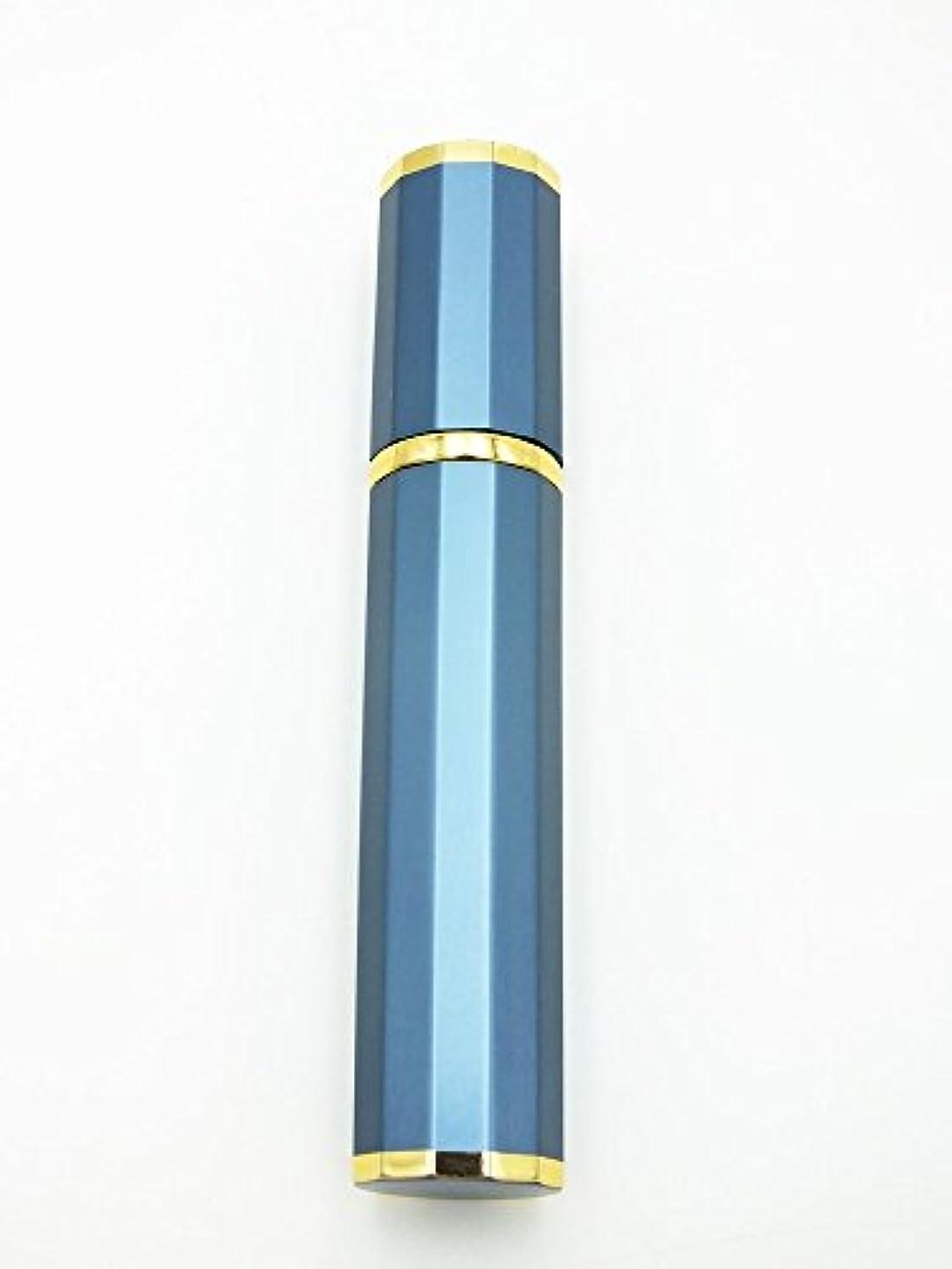 うつ猫背含めるShop XJ アトマイザー 香水 詰め替え ゴールドライン (ブルー)