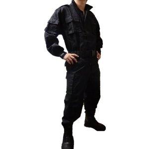 ミリタリアン SWAT仕様 BDU 戦闘服 サバゲー装備品 【Lサイズ】