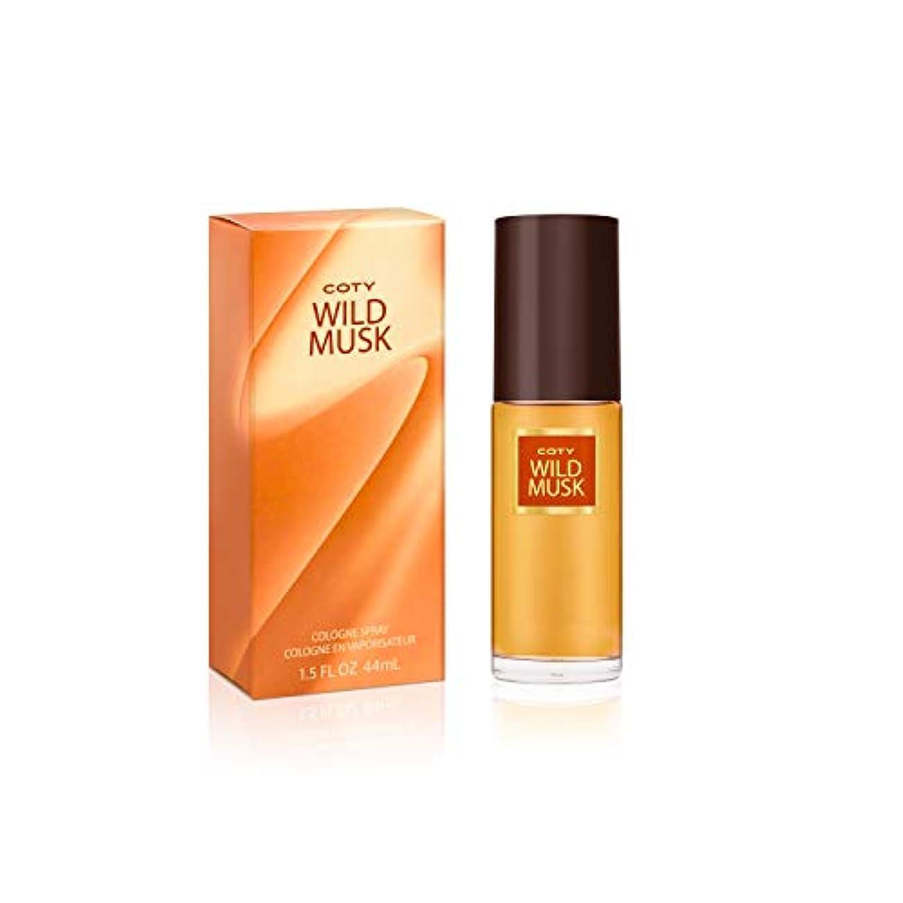 体操選手経験お風呂を持っているコティ Wild Musk Cologne Spray 45ml/1.5oz並行輸入品
