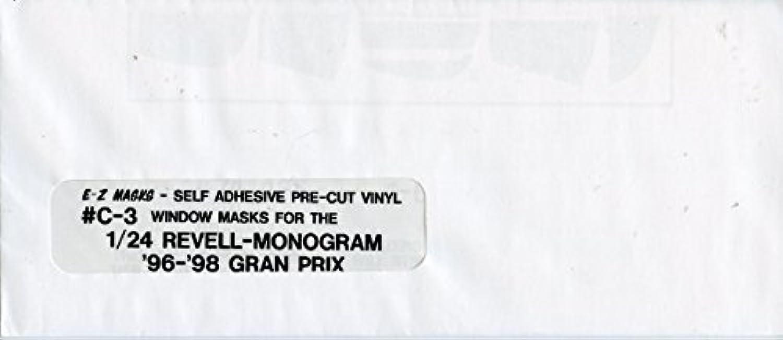 e-zマスク1 : 24ビニールウィンドウマスクfor revell-monogram ' 96 – 98 Grand Prix # C - 3