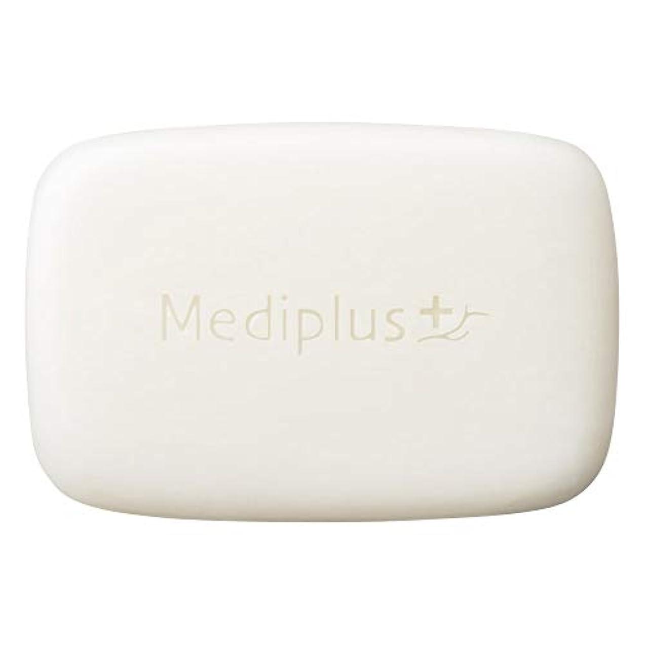 朝反応する怒ってmediplus メディプラス オイルクリームソープ 60g(約2か月分)