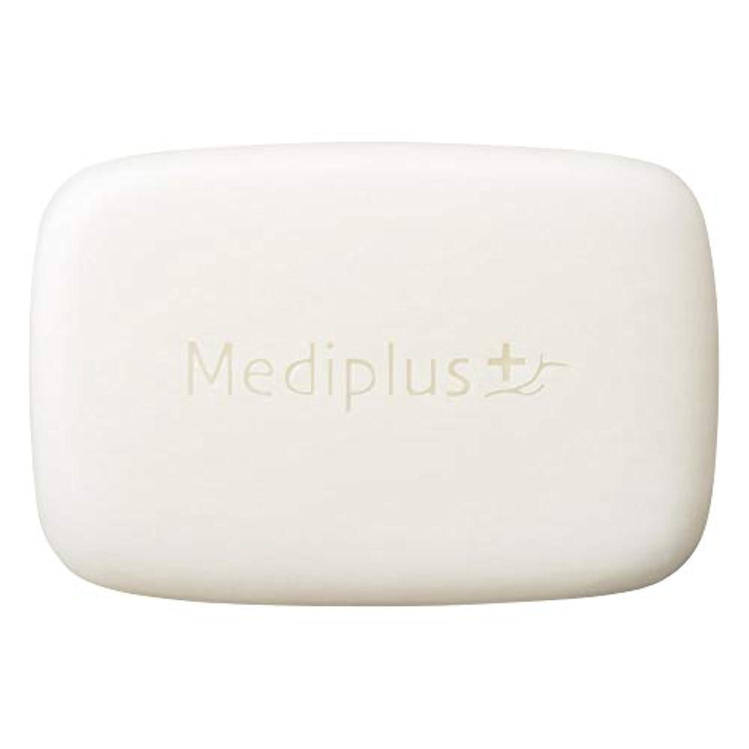 アラート黒思慮のないmediplus メディプラス オイルクリームソープ 60g(約2か月分)