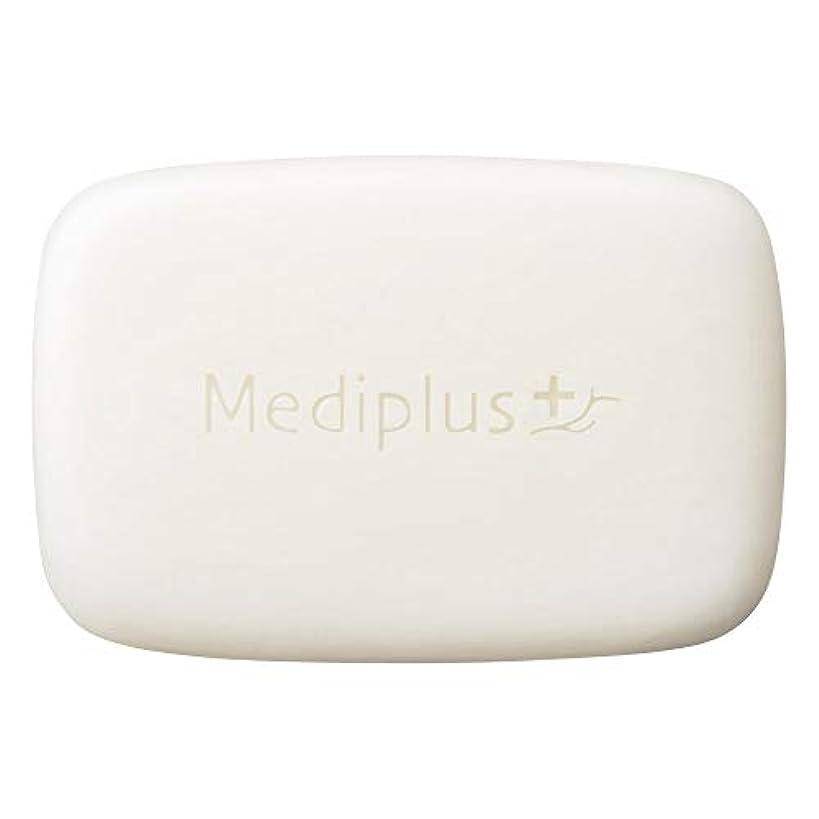 ここにリズミカルな人柄mediplus メディプラス オイルクリームソープ 60g(約2か月分)