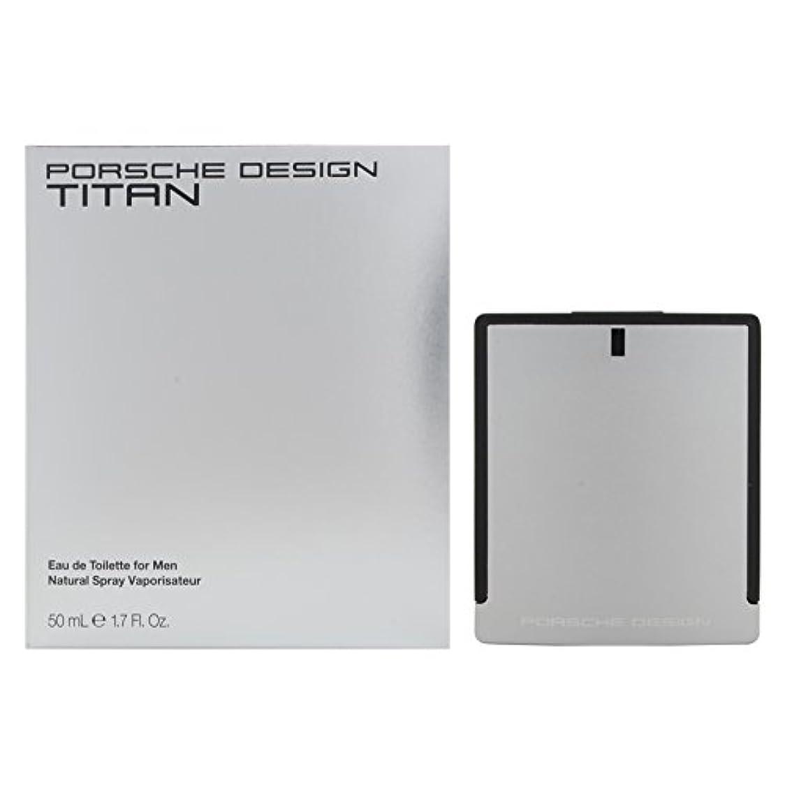 ジャム手のひら喜んでポルシェデザイン チタン EDT 50mL