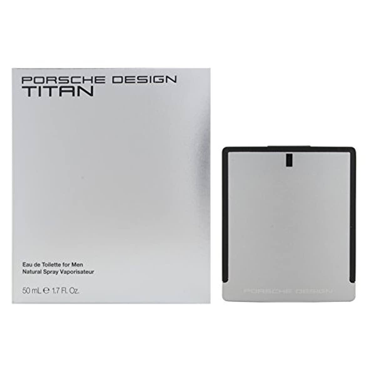 平行暗唱する単語ポルシェデザイン チタン EDT 50mL