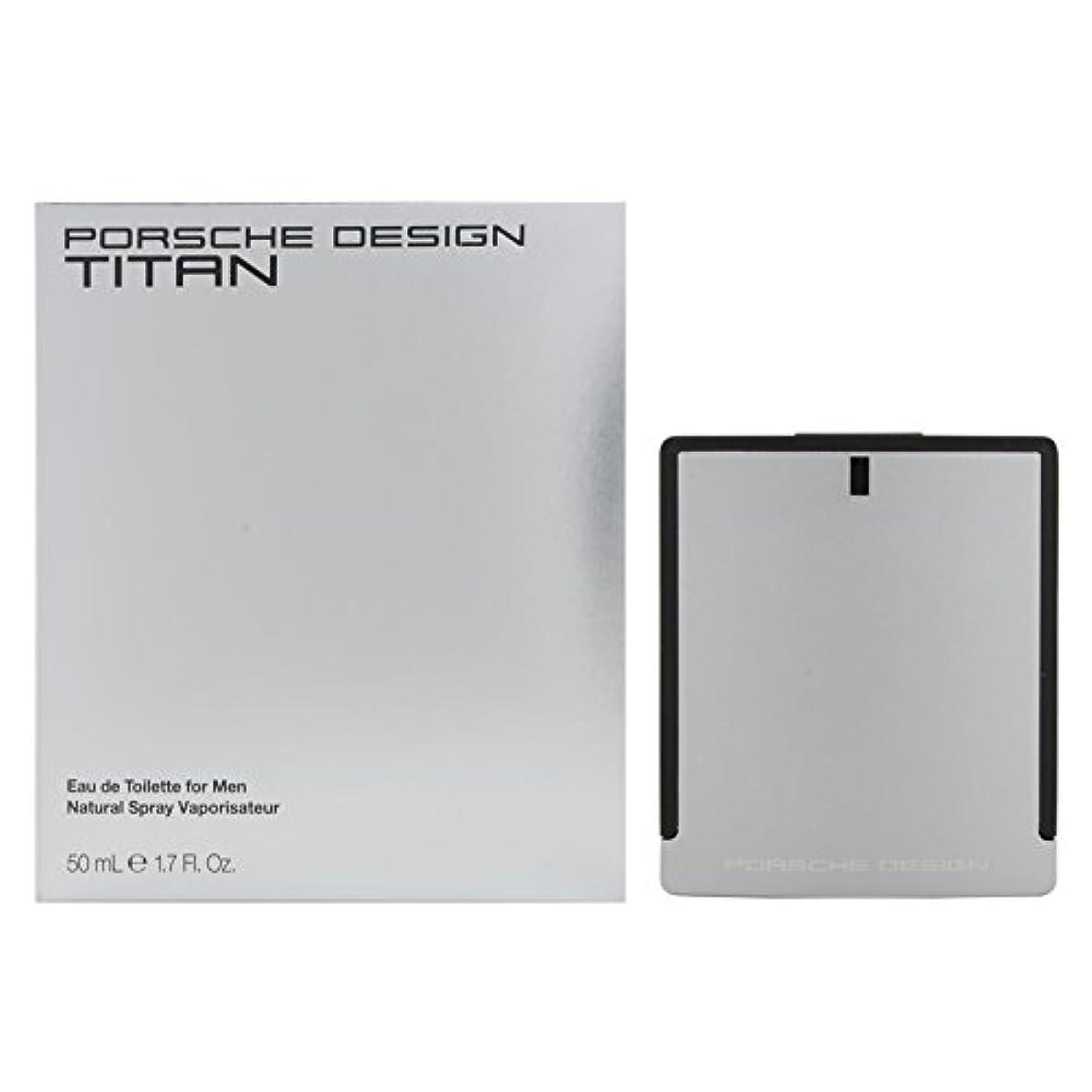 苗驚いたことにアノイポルシェデザイン チタン EDT 50mL