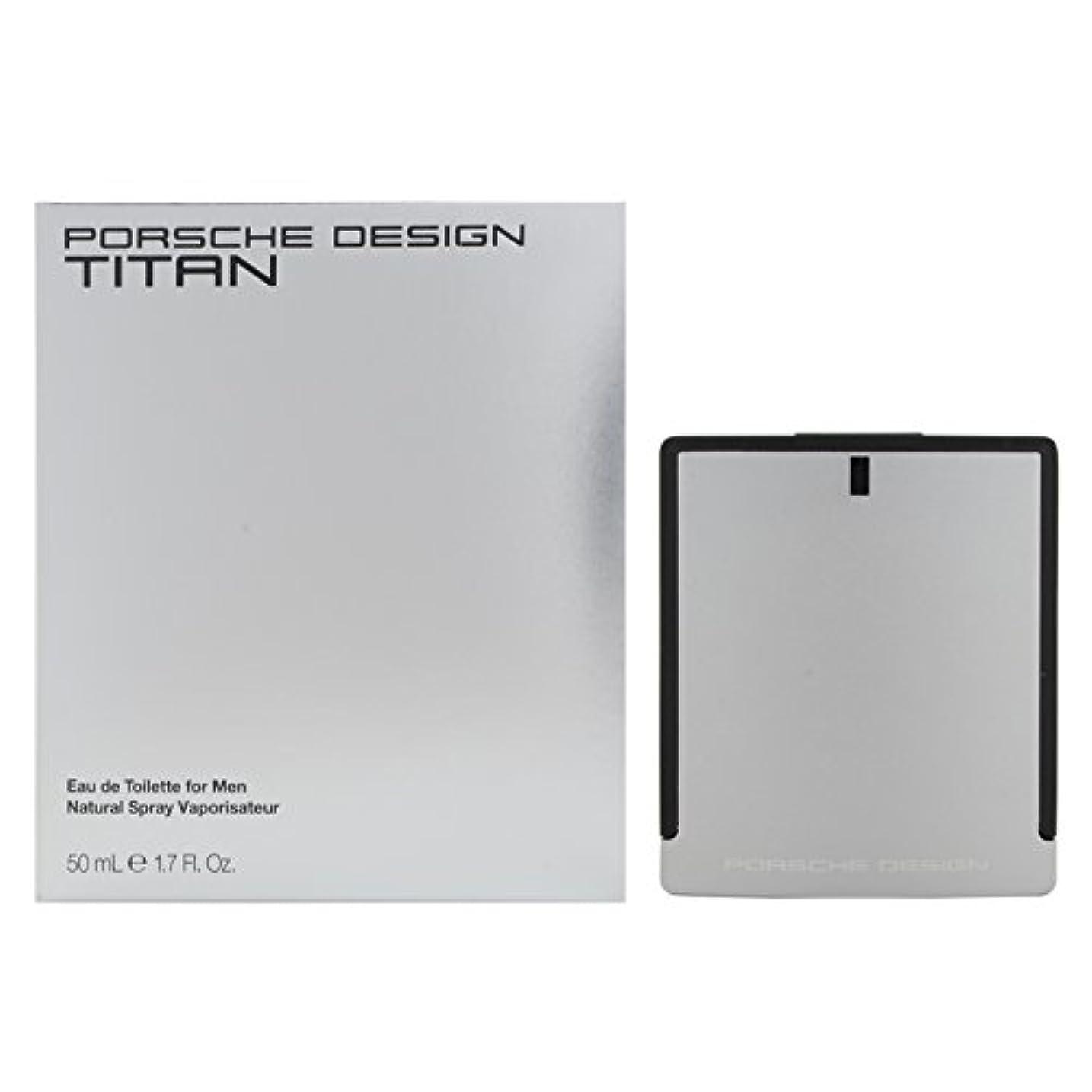 痛み方程式シンポジウムポルシェデザイン チタン EDT 50mL