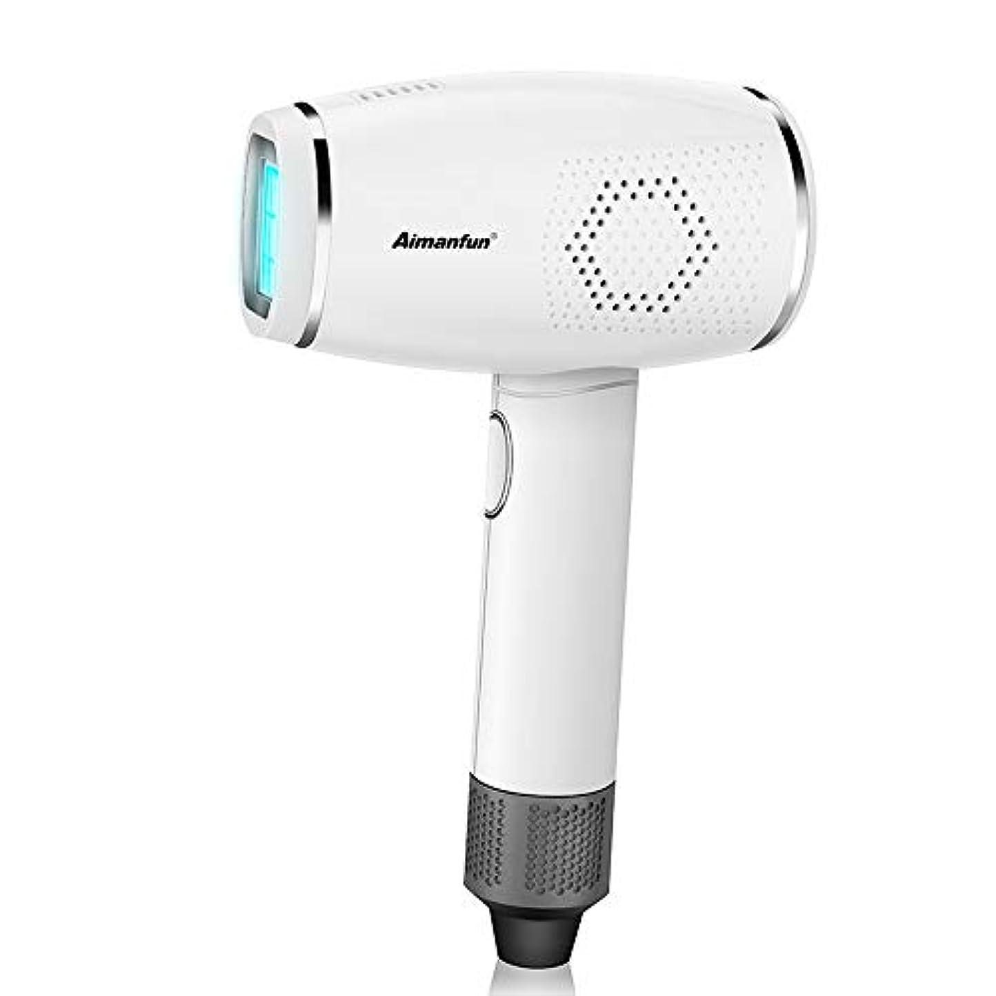 IPL脱毛システム用女性男性ボディフェイス、ホーム電動痛みのないアイスクールエピレータ永久的な脱毛装置付きタッチ液晶画面