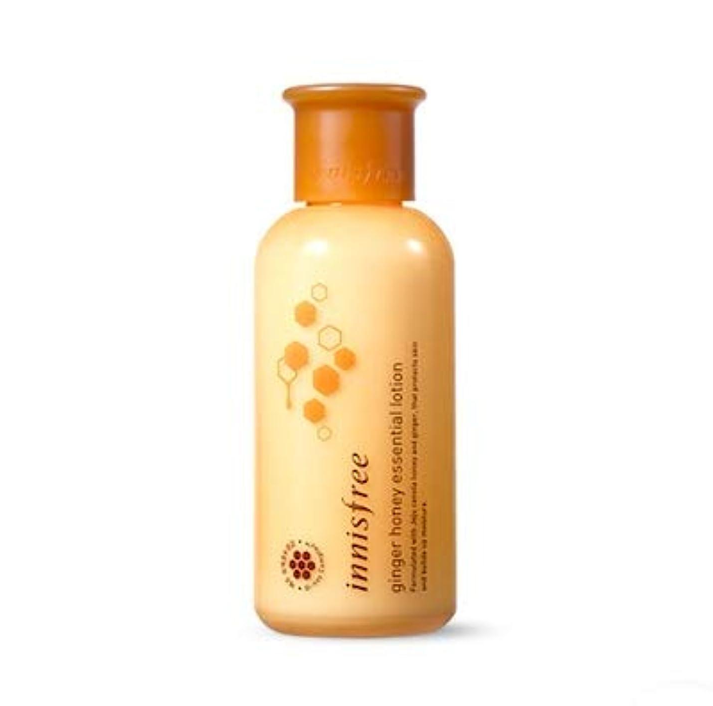 成功したによると促すINNISFREE Ginger Honey Essential Lotion イニスフリー ジンジャー ハニー エッセンシャル ローション 160ml [並行輸入品]