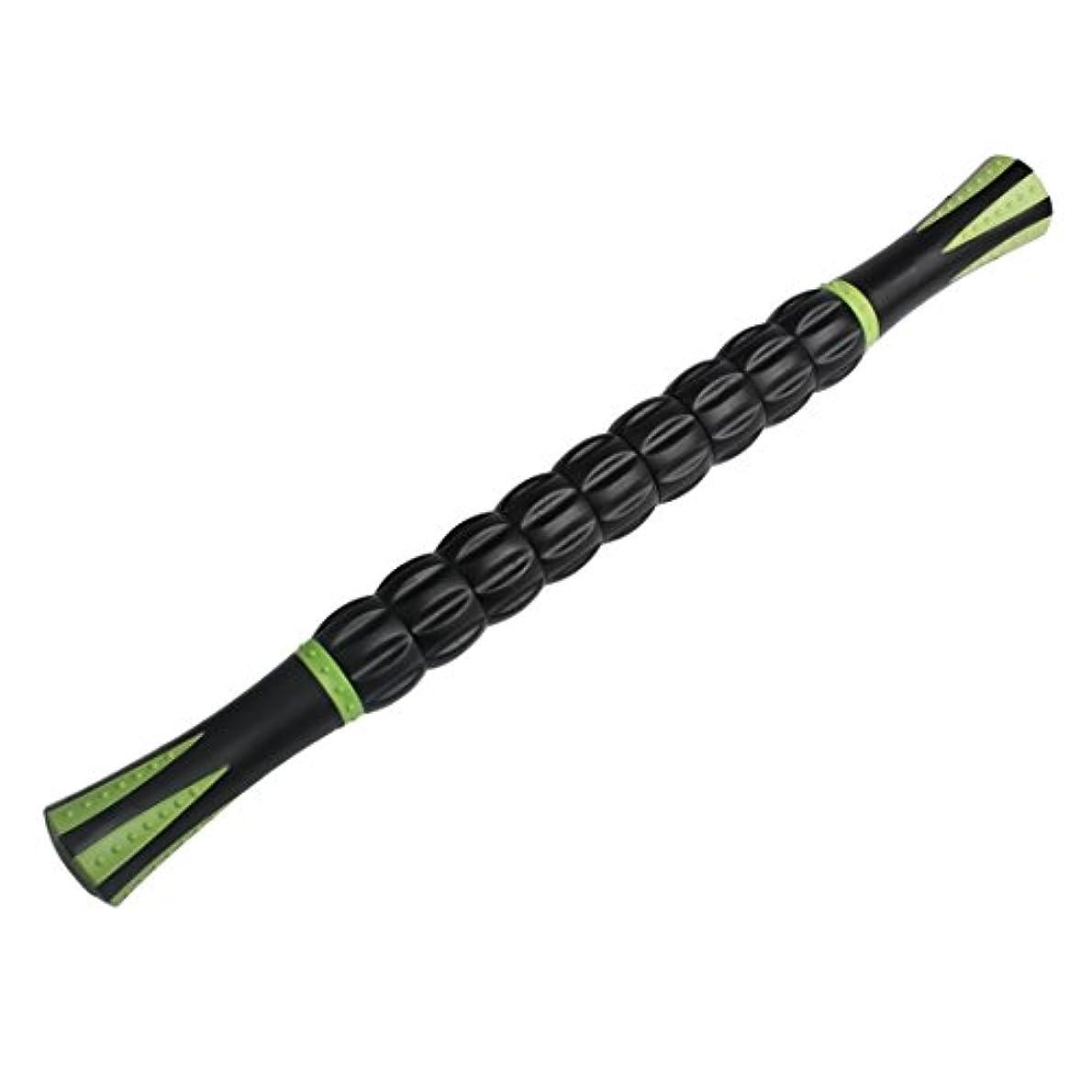 愛情深いメタルライン気取らないAndux 人気が高い筋マッサージローラー ツボのマッサージスティック  マットの色 JRAMB-01