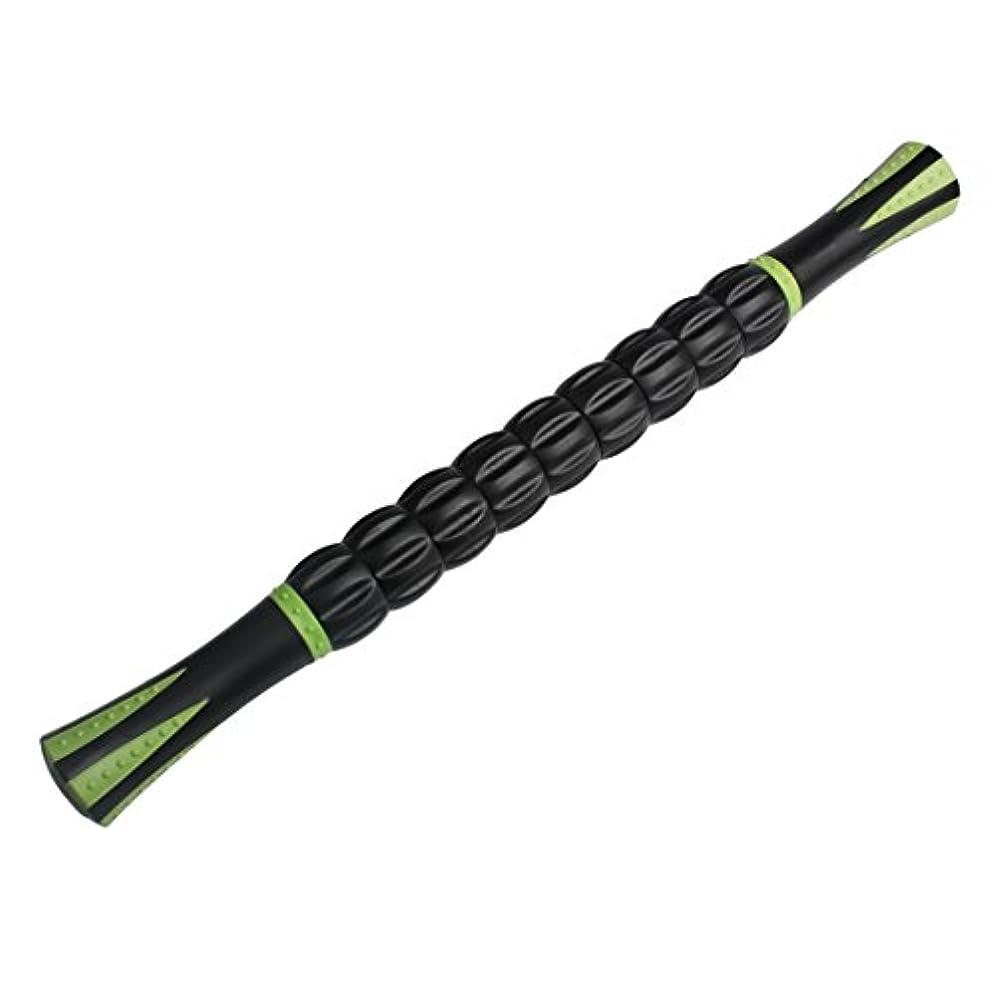 狭い流暢予感Andux 人気が高い筋マッサージローラー ツボのマッサージスティック  マットの色 JRAMB-01