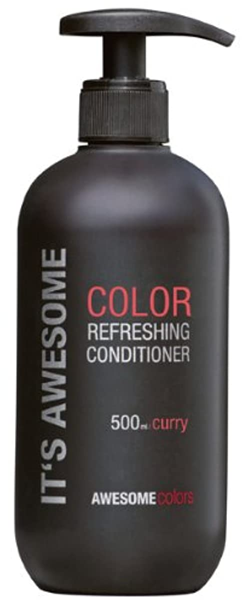 AWESOMEcolorsカラーリフレッシュコンディショナー、カレー500ml