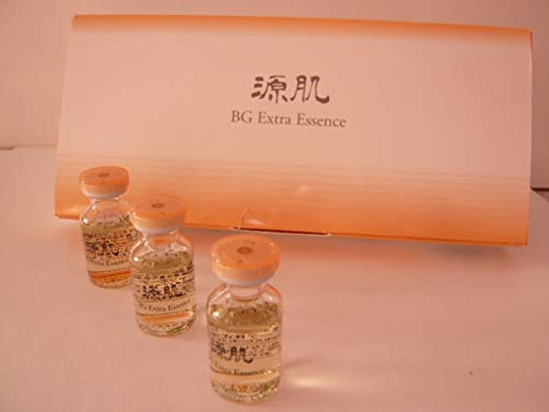 小麦粉ロマンス予知源肌 BGエクストラエッセンス(美容液)浸透性高濃度エッセンス、馬プラセンタエキスnanoECF酵母配合 6ml x 6本入り