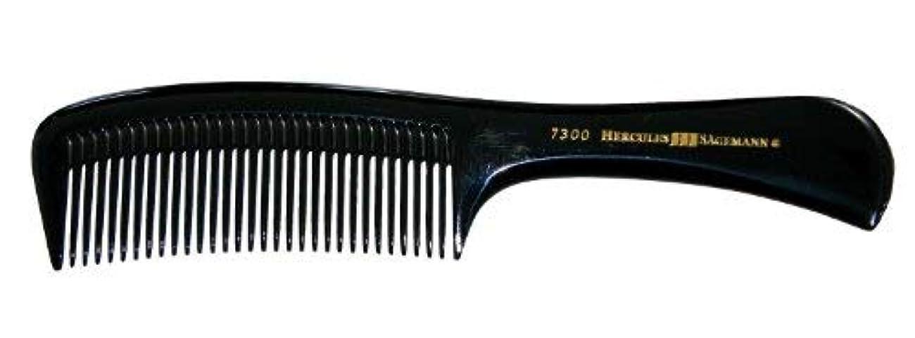 暴動入口フェードHercules S?gemann Light and Handy Handle Comb 8 1/2