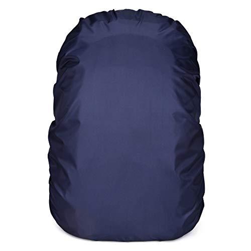 OVER-ALL リュックカバー 防水 レインカバー 雨よけ ザックカバー 3色 4サイズ(15-65L) 収納袋付 2倍防水 落下防止